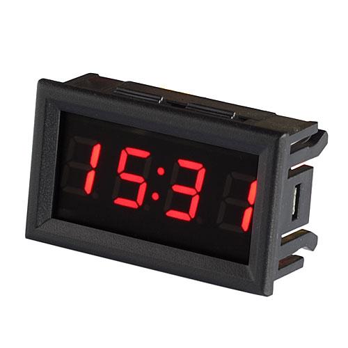 Tecnologia orologi e sveglie orologio da auto ckr5426 a led rossi - Orologio da tavolo digitale ...