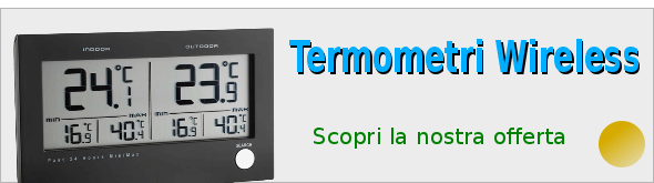 Termometri wireless
