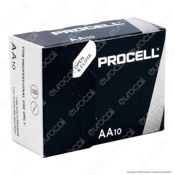 Batterie alcaline AA Duracell Indusriall