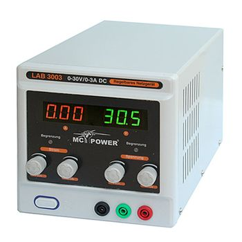 Alimentatore variabile 0-30V 0-3A LAB3003